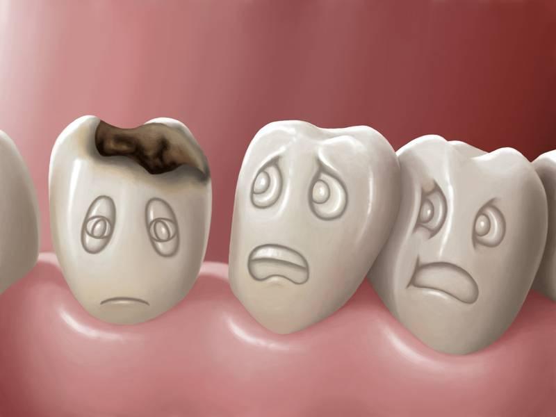 از دست دادن دندان